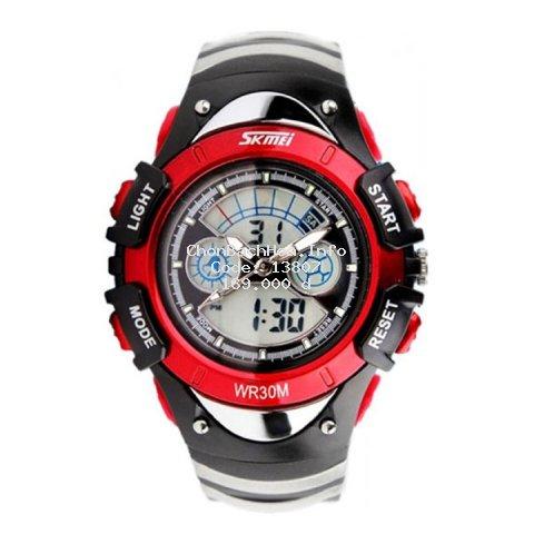 Đồng hồ trẻ em bé trai Skmei 0998 điện tử thể thao dây cao su