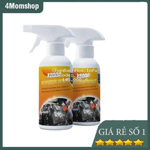[ DUNG DỊCH X2000] Dung Dịch Tẩy Rửa Đa Năng Clean Spray X2000 Đánh Bay Vết Bẩn Cứng ĐầuTẩy Sạch Một Cách Nhanh Chóng