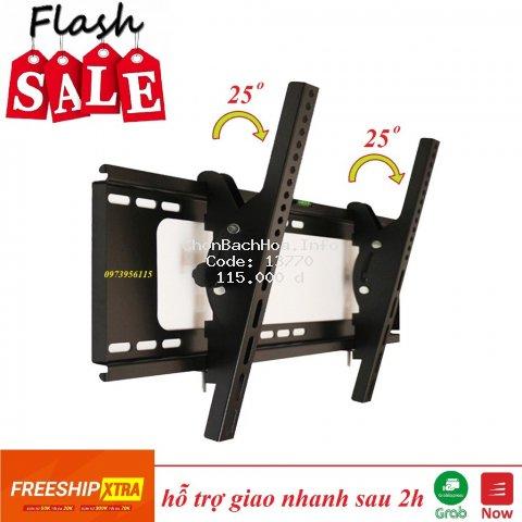 Giá treo tivi nghiêng 26-65 inch - giá treo gật gù điều chỉnh góc nghiêng 26 - 65 inch