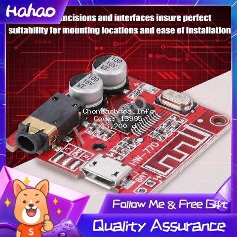 [Hahao] Hot sale Mạch thu giải mã khuếch đại âm thanh Lossless cho MP3 Bluetooth trên xe hơi