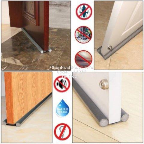 [HÀNG CAO CẤP LOẠI 1] Ron chặn khe cửa chống côn trùng, ngăn tiếng ồn, ngăn gió lùa, ngăn gió điều hòa, chắn bụi.