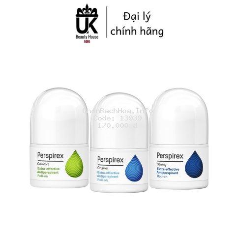 [HÀNG NHẬN SAU TẾT] Lăn khử mùi hiệu quả đến 7 ngày Perspirex 20ml
