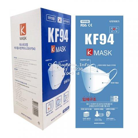 Khẩu trang Hàn Quốc Individual packaging of KF94 K-mask (1 chiếc)