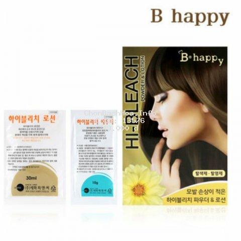 [Mã COS0202 hoàn 8% xu đơn 250K] Thuốc tẩy tóc có dưỡng chất mượt tóc B-Happy Sewha