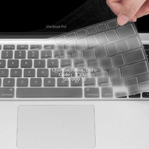 [Mã ELFLASH2 hoàn 10K xu đơn 20K] Phủ phím trong suốt cho Macbook ( đủ dòng)
