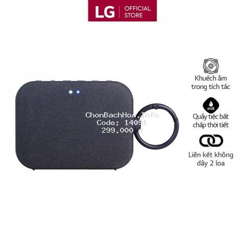 [Mã ELLGJAN giảm 3% đơn 250K] [CE Gift] Loa Bluetooth di động LG XBOOMGo PN1 - Hàng chính hãng