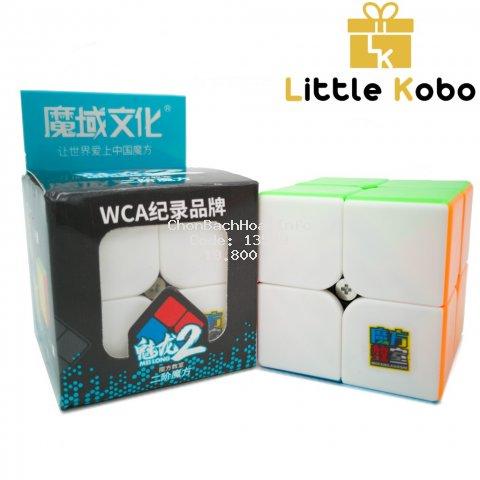 [Mã TOYJAN hoàn 20K xu đơn 50K] Rubik 2x2 Stickerless MoYu MeiLong MFJS Rubik 2 Tầng