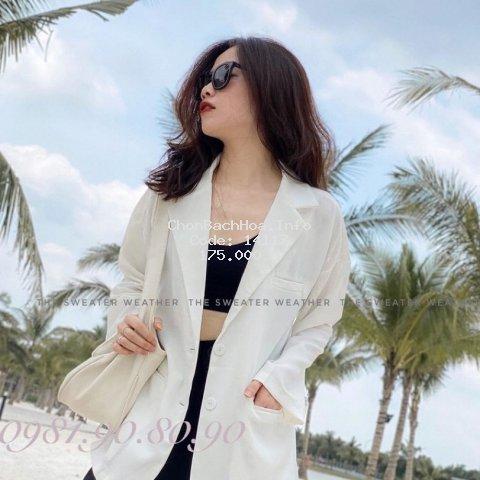 [Mã WAST99 hoàn 12k xu đơn 99k] áo blazer nữ dáng suông rộng chất vải cao cấp kiểu hàn quốc
