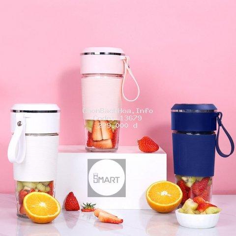 Máy xay sinh tố cầm tay mini - Công Suất 150W - Bảo Hành 1 đổi 1 - Máy xay cầm tay Juicecup - Fruitcup - Juicer