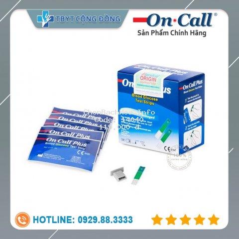 Que thử đường huyết Acon On-Call Plus