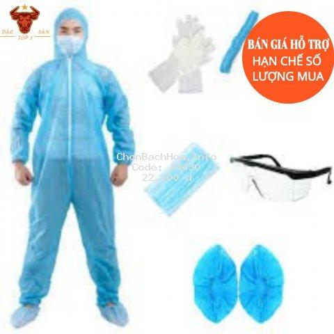 Set bộ quần ảo bảo hộ y tế,bộ đồ phòng dịch