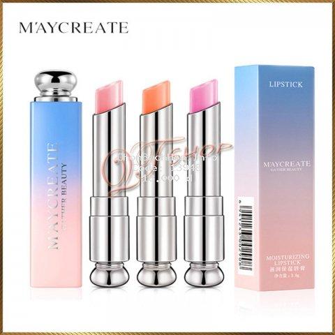 Son đổi màu dưỡng ẩm môi Maycreate SM33
