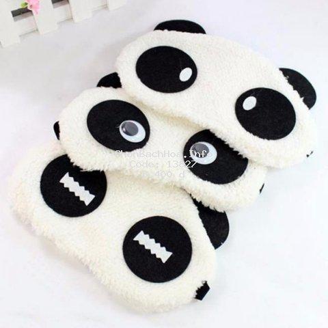 Tấm Bịt Mắt Ngủ Hình Gấu Panda P010