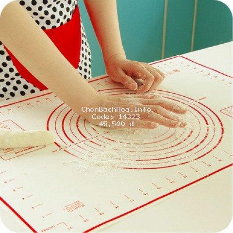 Tấm nhào bột làm bánh 40x60cm chất liệu sợi thủy tinh mềm mại, dẻo dai, chống dính