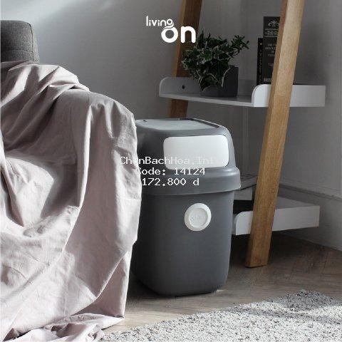 Thùng rác Dot recycling Oliving dung tích 60L