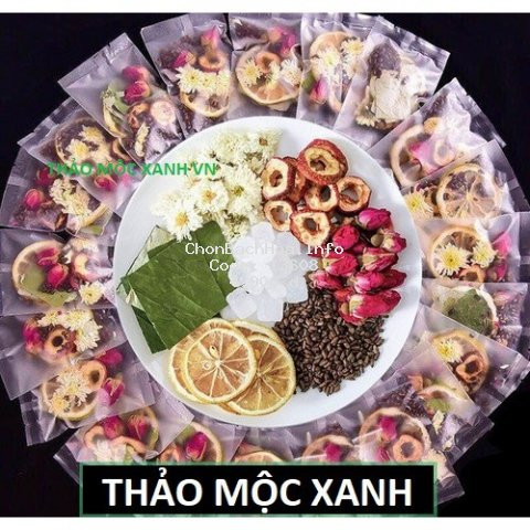 Trà hoa quả mix 1 gói nhỏ dùng thử