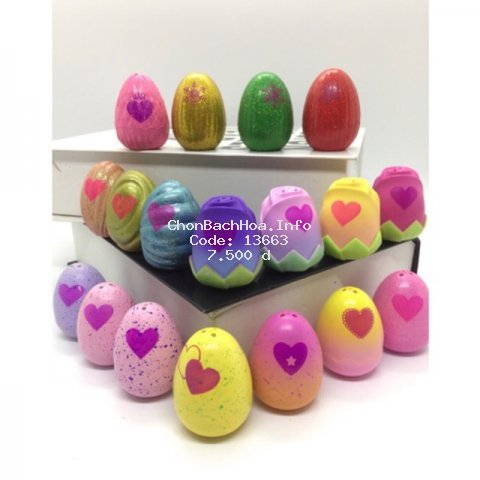 Trứng Hatchimal các mùa