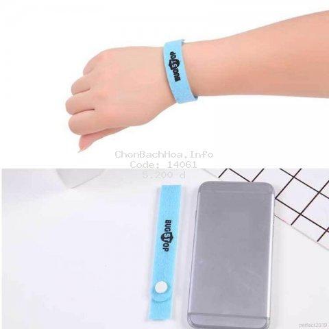 Vòng đeo tay chống muỗi an toàn cho bé màu sắc ngẫu nhiên
