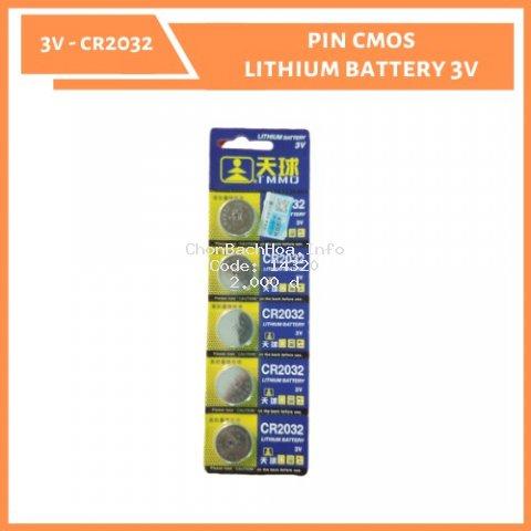 [XẢ KHO - CHỈ HÔM NAY] Pin Cmos CR2032 - 3V [Giá lẻ từng viên]