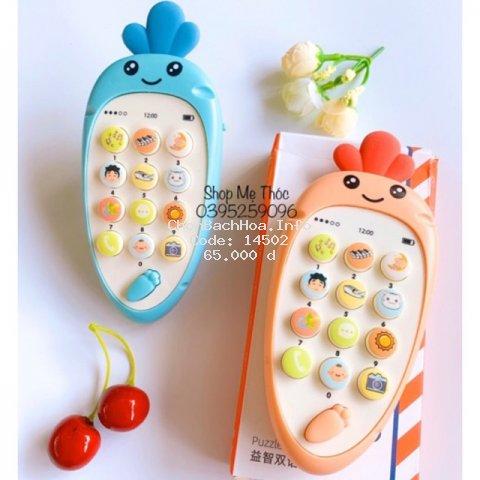 Điện thoại đồ chơi có gặm nướu cho bé
