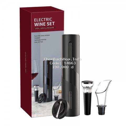 Dụng cụ mở nút chai rượu vang bằng điện đa năng