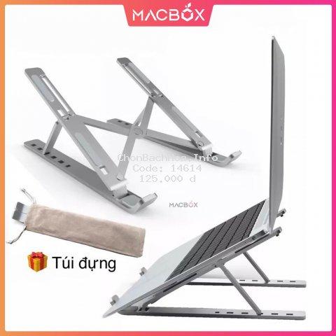 Giá đỡ LAPTOP, MACBOOK, IPAD bằng nhôm, nhựa có thể điều chỉnh được độ cao, đế tản nhiệt laptop