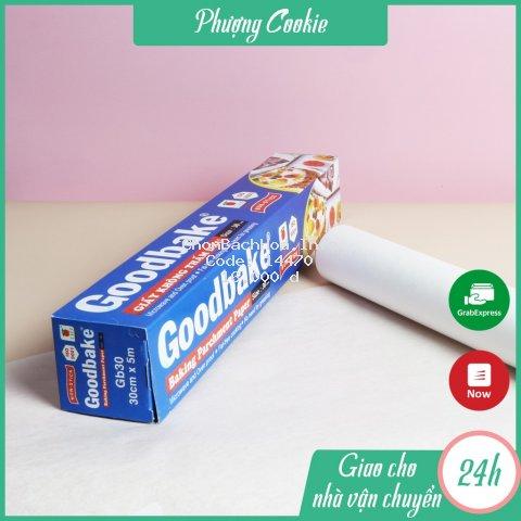Giấy nến nướng bánh không thấm dầu Goodbake dùng để lót nướng bánh