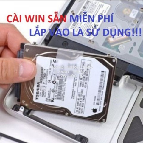 [Mã ELFLASH3 hoàn 10K xu đơn 20K] Ổ cứng laptop HDD 80Gb 120Gb 160Gb 250Gb 320Gb 500Gb640Gb750Gb renew bảo hành 6 tháng