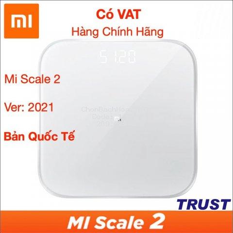 Cân Điện Tử Thông Minh Bluetooth Xiaomi Smart Scale Gen 2 – Bác Sĩ Gia Đình, Trợ Lý Sức Khỏe - Hàng Chính Hãng