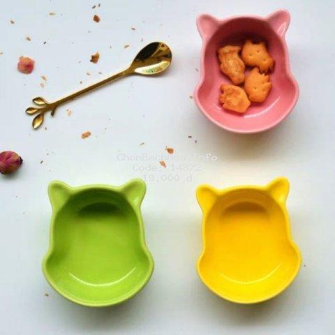 Chén bát ăn dặm gốm sứ hình pooh cho trẻ ăn dặm kiểu Nhật