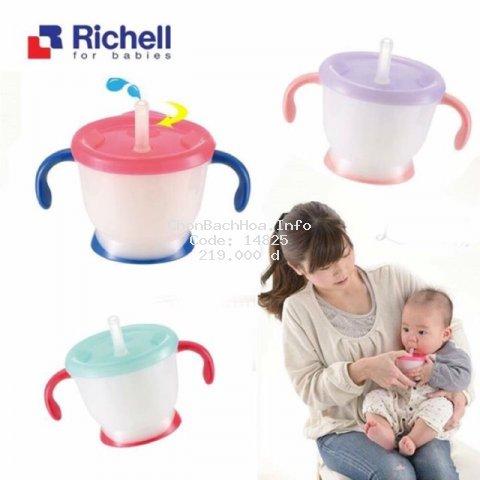 Cốc tập uống 3 giai đoạn Richell RC41011