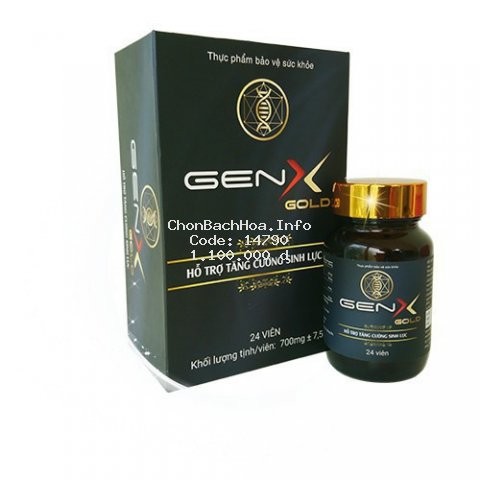 Gen x chính hãng, Gen x gold tăng cường sinh lý nam kéo dài thời gian quan hệ tình dục