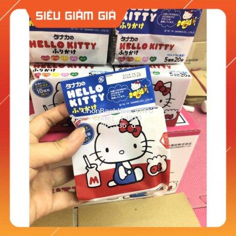 Gia vị rắc cơm Hello Kitty Nhật (8/2021)