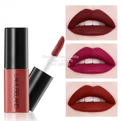 LAMUSELAND Son môi 12 màu tuỳ chọn lâu trôi thương hiệu L18L11