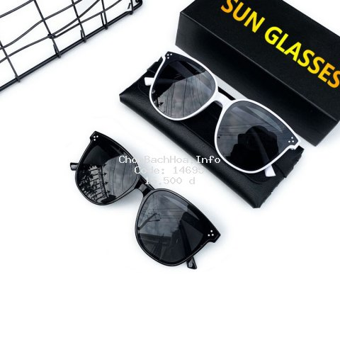 [Mã FASHIONFREE10 giảm 10K đơn 20K] Mắt kính thời trang nam nữ chống tia UV