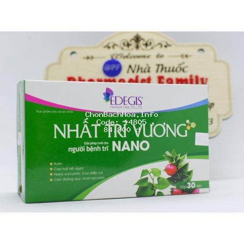 Nhất trĩ vương [Nano] - Giải pháp mới cho người bệnh trĩ, táo bón