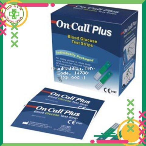 Que thử đường huyết Acon USA dành cho các máy Oncall plus và Oncall EZII