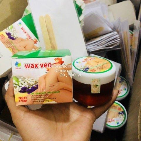 WAX LÔNG VEO Tẩy sạch MỌI VÙNG Lông + TẶNG kèm giấy wax và que gạt
