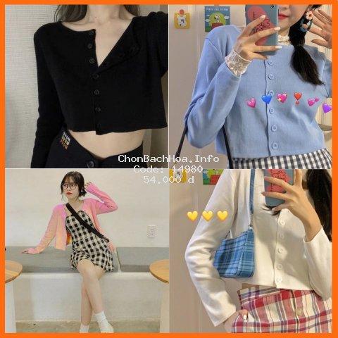 Áo croptop nữ kiểu tay dài, croptop nữ tay dài ngắn phong cách Hàn Quốc