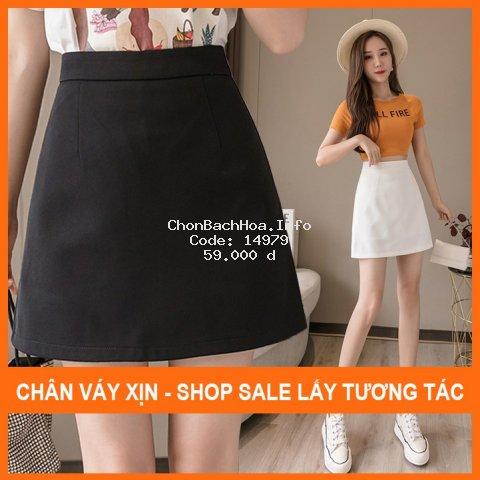 Chân váy ngắn chữ a, Váy chữ A công sở mẫu ngắn MADELA.