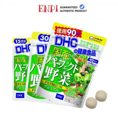 DHC Viên uống rau củ bổ sung chất xơ