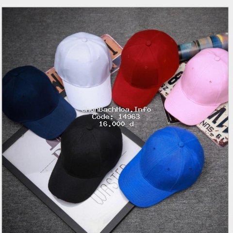 Mũ lưỡi trai trơn unisex nhiều màu sắc thời trang, form chuẩn, nón kết dành cho nam và nữ, dáng Hàn Quốc hot trend