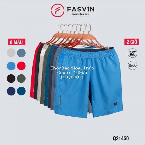 Quần đùi nam Fasvin Q21450.HN vải gió chun co giãn mềm mại thoải mái