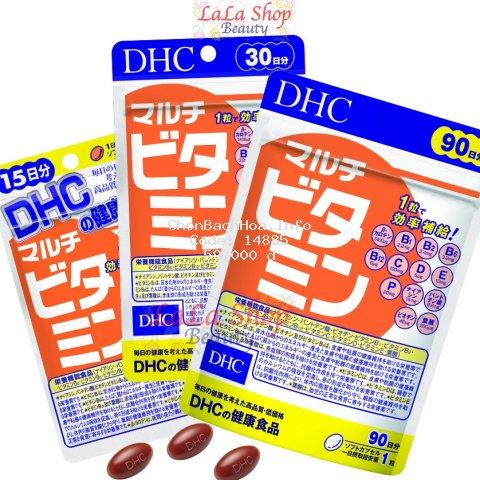 Viên Uống Vitamin Tổng Hợp DHC Nhật Bản