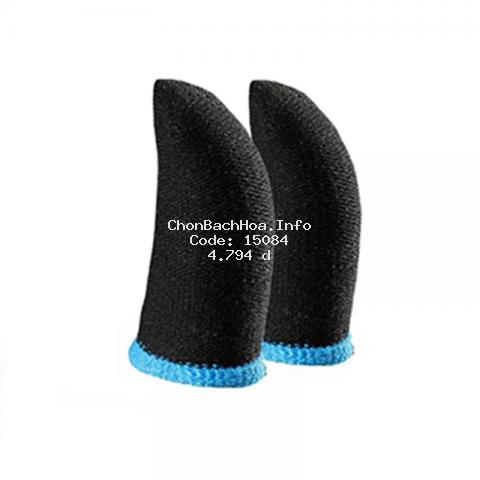 Bộ bao 2 ngón tay chuyên dùng chơi game mobile chống mồ hôi tay bằng sợi carbon