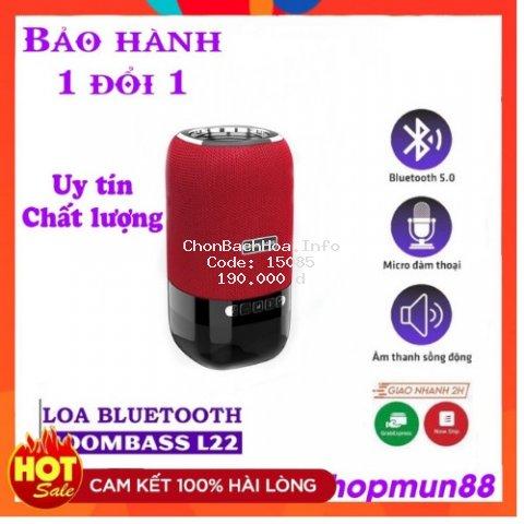 Loa Bluetooth Mini Không Dây, Loa Boombass L22 Có Đèn Led - Bass Siêu Ấm