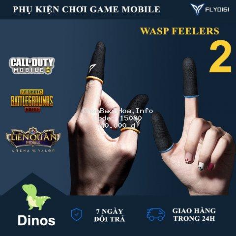 [ PHIÊN BẢN MỚI ] Flydigi Wasp Feelers 2 | Găng tay chơi game PUBG, Liên quân, chống mồ hôi, cực nhạy, co giãn cực tốt