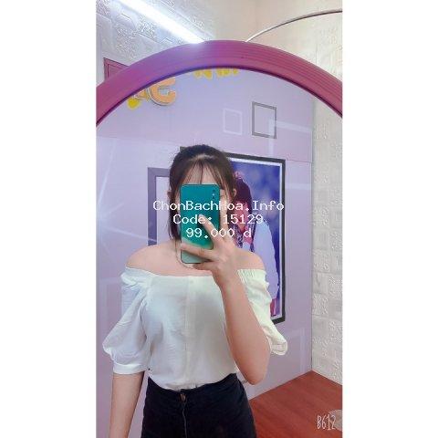 Áo kiểu tay ngắn cổ vuông phong cách Hàn Quốc thời trang cho nữ mã L20