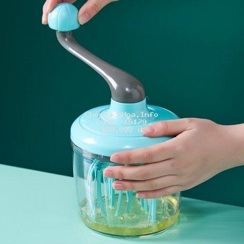 Máy Đánh Trứng Cầm Tay - Máy Đánh Kem Thủ Công - Dụng Cụ Làm Bánh Thông Minh Tiện Lợi - Smarthome GG