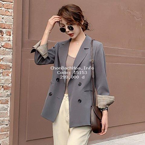 [QUẢNG CHÂU] Áo blazer,áo vest nữ hàng quảng châu cao cấp kiểu dáng nhẹ nhàng,phong cách cá tính,mặc cực sang